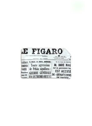 Main View - Click To Enlarge - FORNASETTI - Giornale le Figaro large sheet ashtray