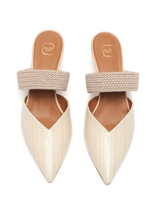 Detail View - Click To Enlarge - MALONE SOULIERS - Maisie' Embossed Leather Mules