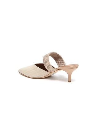 - MALONE SOULIERS - Maisie' Embossed Leather Mules