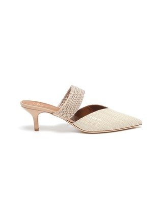 Main View - Click To Enlarge - MALONE SOULIERS - Maisie' Embossed Leather Mules