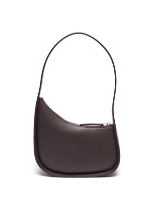 Main View - Click To Enlarge - THE ROW - Half Moon Calf Leather Shoulder Bag