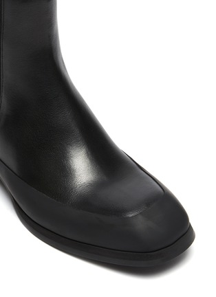 Detail View - Click To Enlarge - THE ROW - Grained Calfskin Leather Garden Boots
