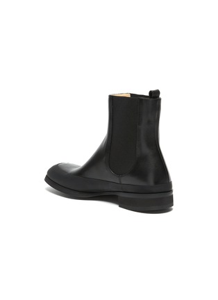 - THE ROW - Grained Calfskin Leather Garden Boots