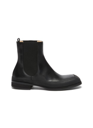 Main View - Click To Enlarge - THE ROW - Grained Calfskin Leather Garden Boots