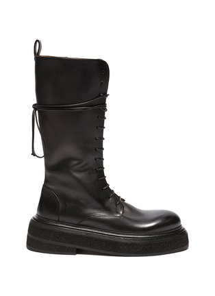 Main View - Click To Enlarge - MARSÈLL - Zuccone Lace Up Combat Boots