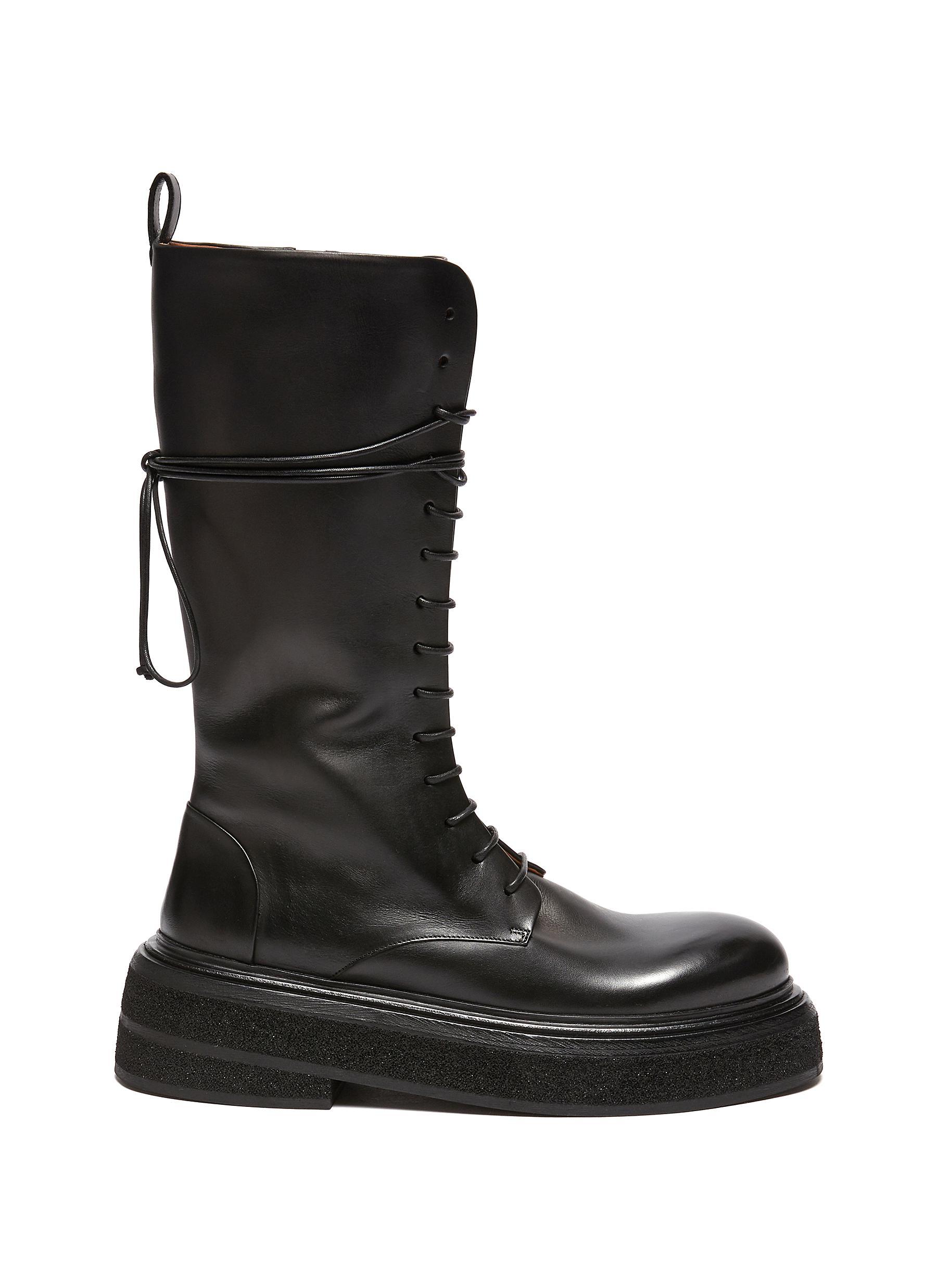 Zuccone Lace Up Combat Boots - MARSÈLL - Modalova