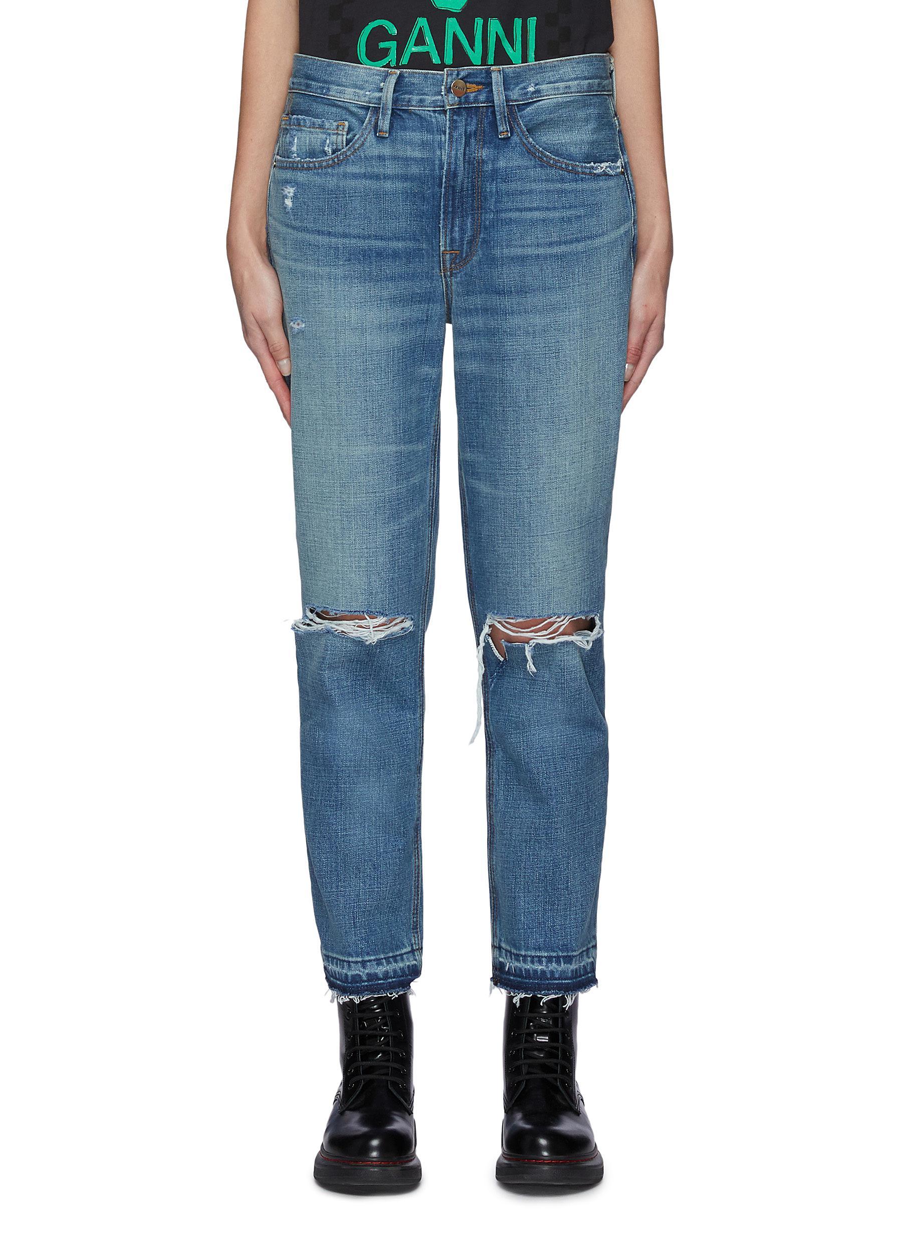 Heritage Piper Released Hem Jeans