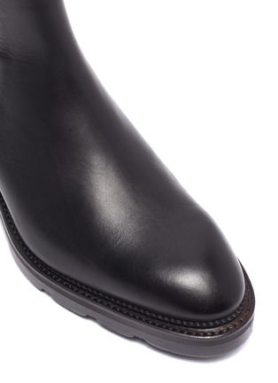 Detail View - Click To Enlarge - ALEXANDERWANG - Andy' Cut Out Heel Leather Ankle Chelsea Boots