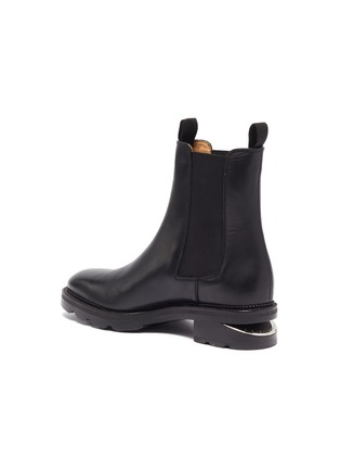 - ALEXANDERWANG - Andy' Cut Out Heel Leather Ankle Chelsea Boots