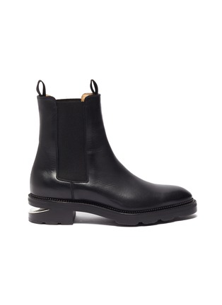 Main View - Click To Enlarge - ALEXANDERWANG - Andy' Cut Out Heel Leather Ankle Chelsea Boots