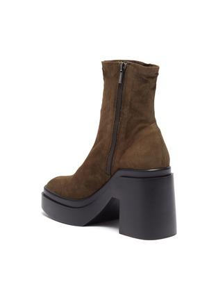 - CLERGERIE - Nina' Suede Platform Ankle Boots