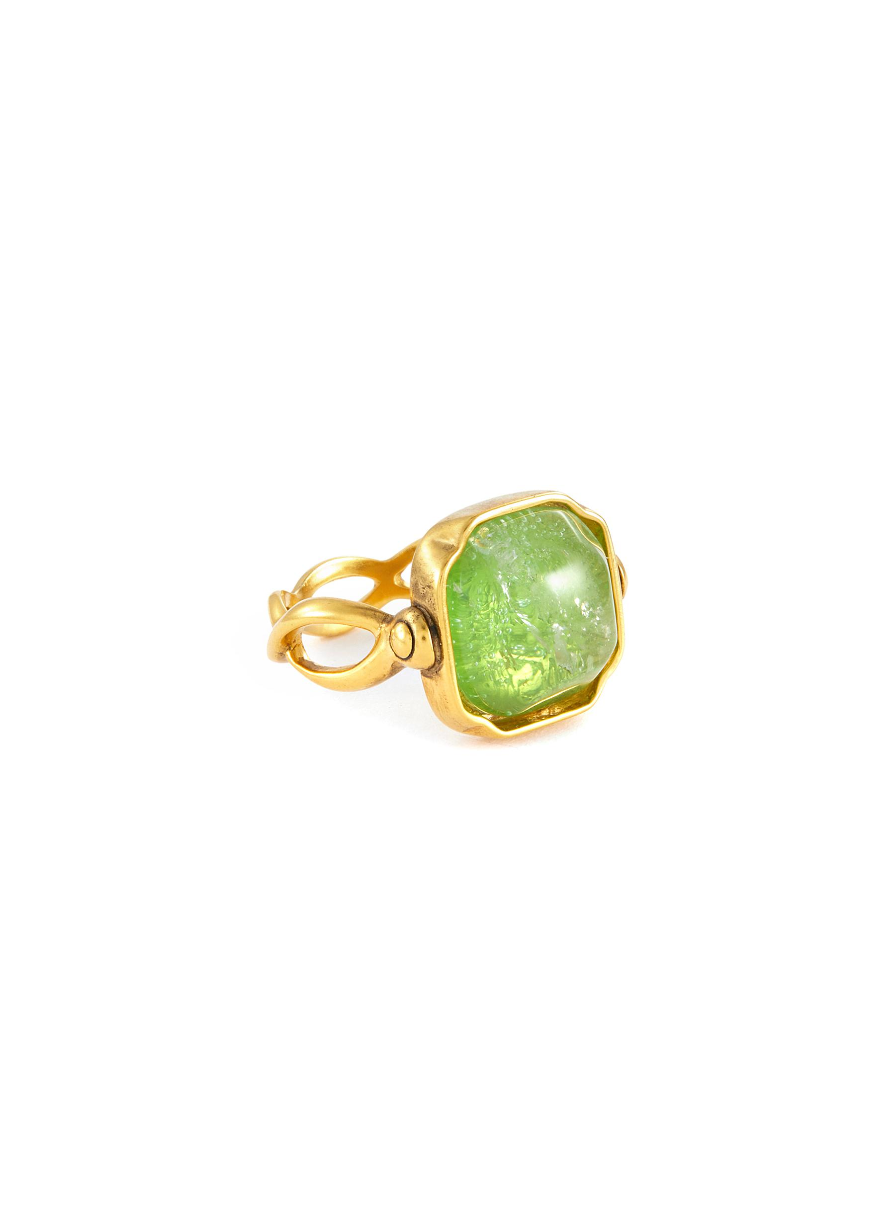 Cabochon Square ring