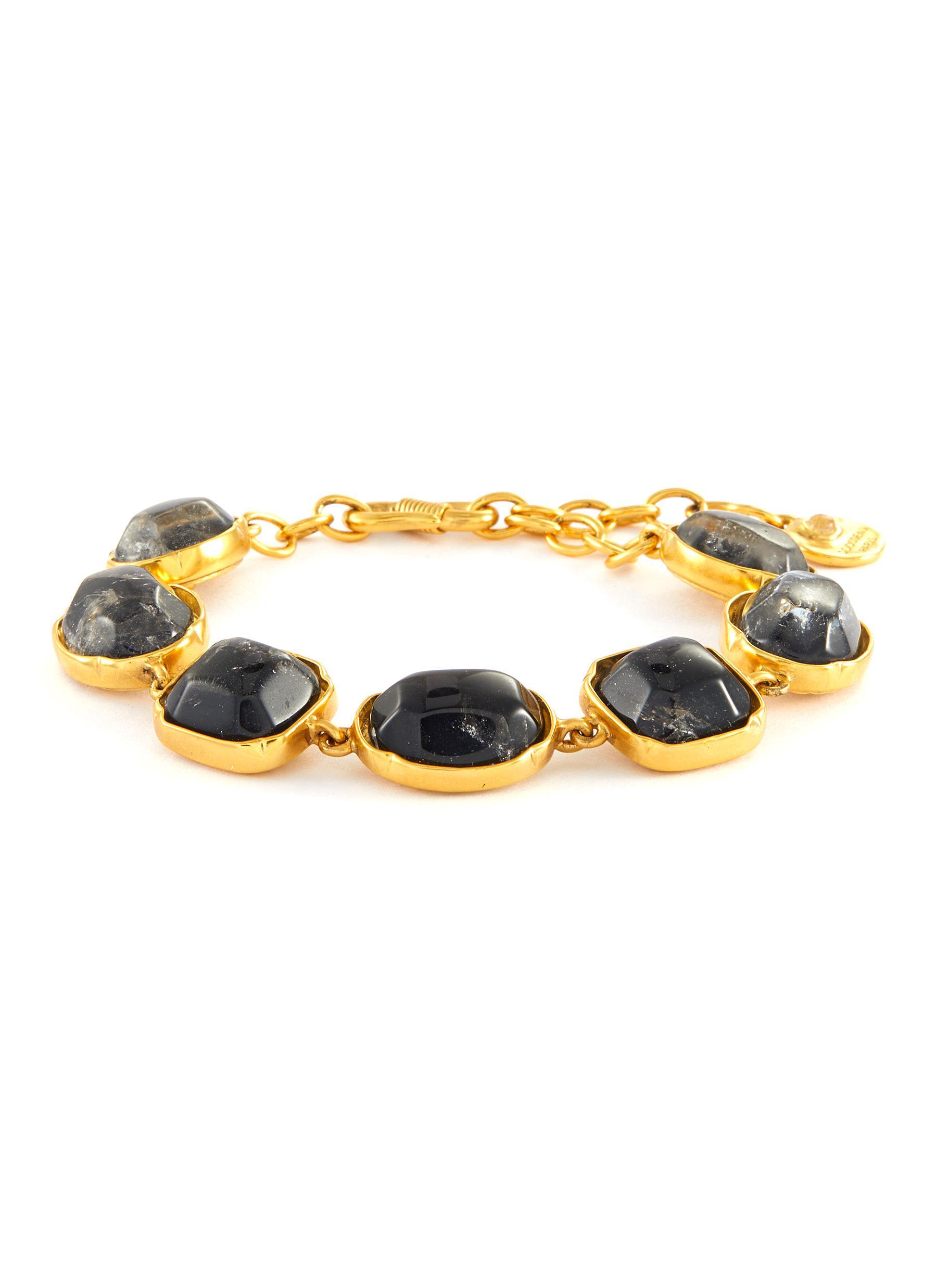 Cabochon Bead Bracelet