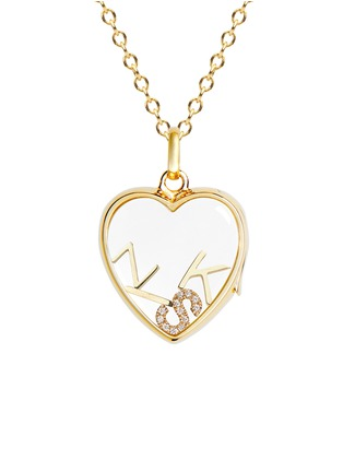 Figure View - Click To Enlarge - LOQUET LONDON - 18k yellow gold letter charm – I