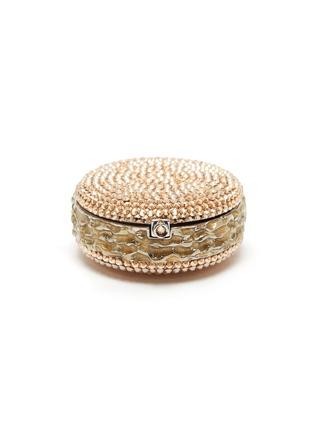Main View - Click To Enlarge - JUDITH LEIBER - Macaron Pillbox Caramel