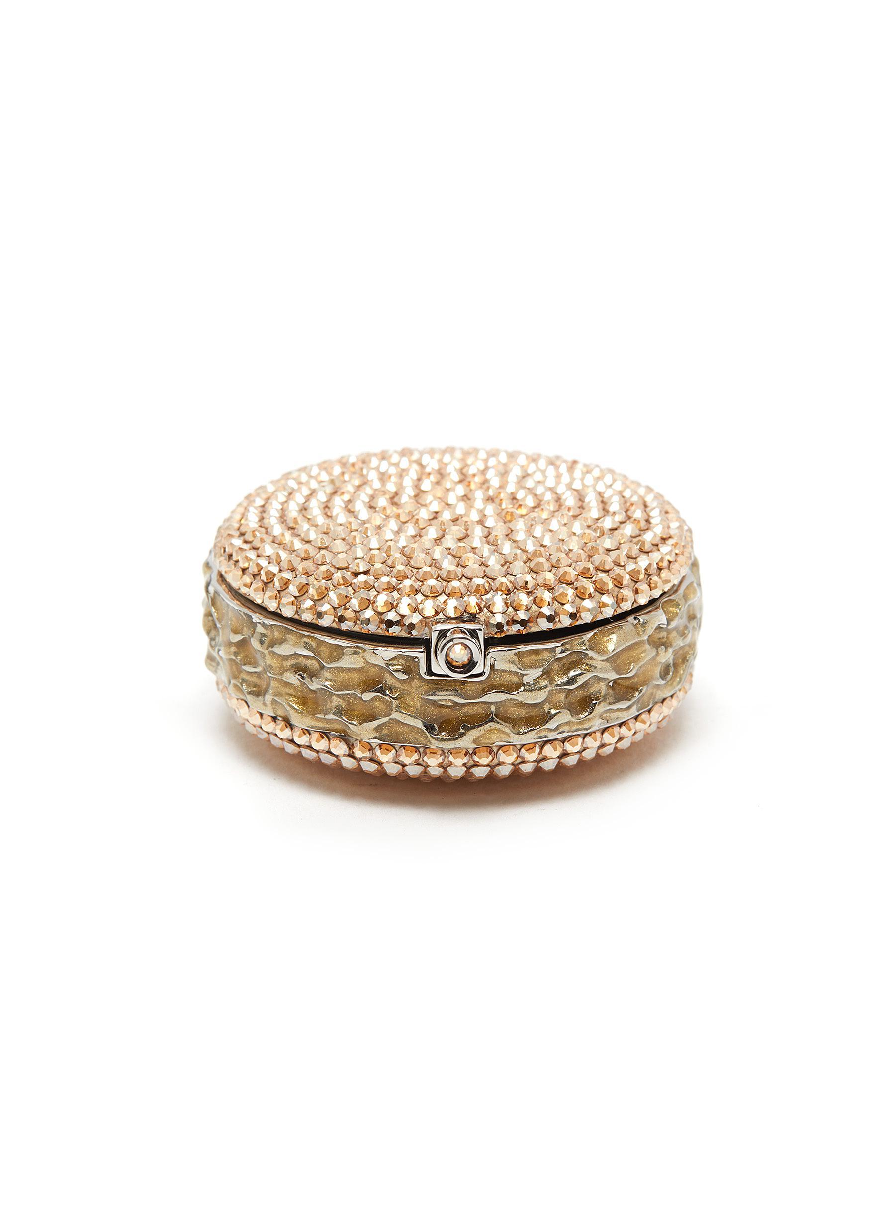 Macaron Pillbox Caramel