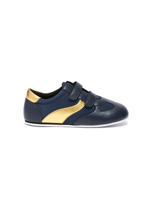Main View - Click To Enlarge - WINK - Baguette Low Top Double Velcro Sneakers