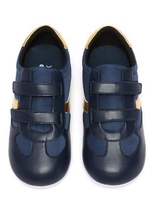 Figure View - Click To Enlarge - WINK - Baguette Low Top Double Velcro Sneakers