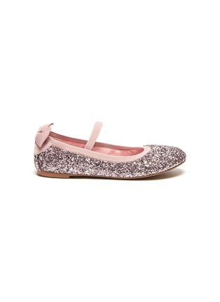 Main View - Click To Enlarge - WINK - Sodapop' Kids Glitter Bow Ballerina