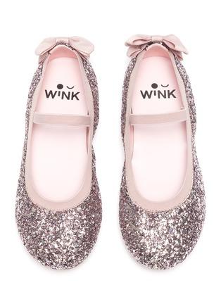 Figure View - Click To Enlarge - WINK - Sodapop' Kids Glitter Bow Ballerina