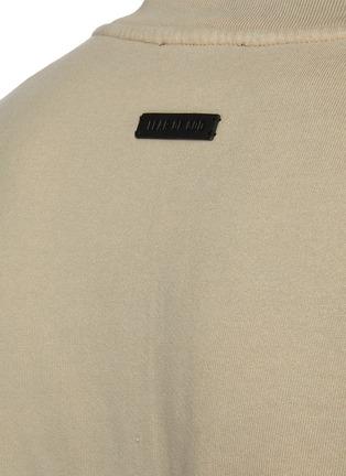 - FEAR OF GOD - Overlapped Three Quarter Sleeve Fleece Sweatshirt