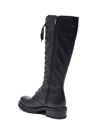 - LA CANADIENNE - Caprice' Tall Lace Up Leather Boots