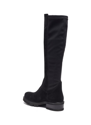 - LA CANADIENNE - Cagney' Tall Suede Knee High Boots
