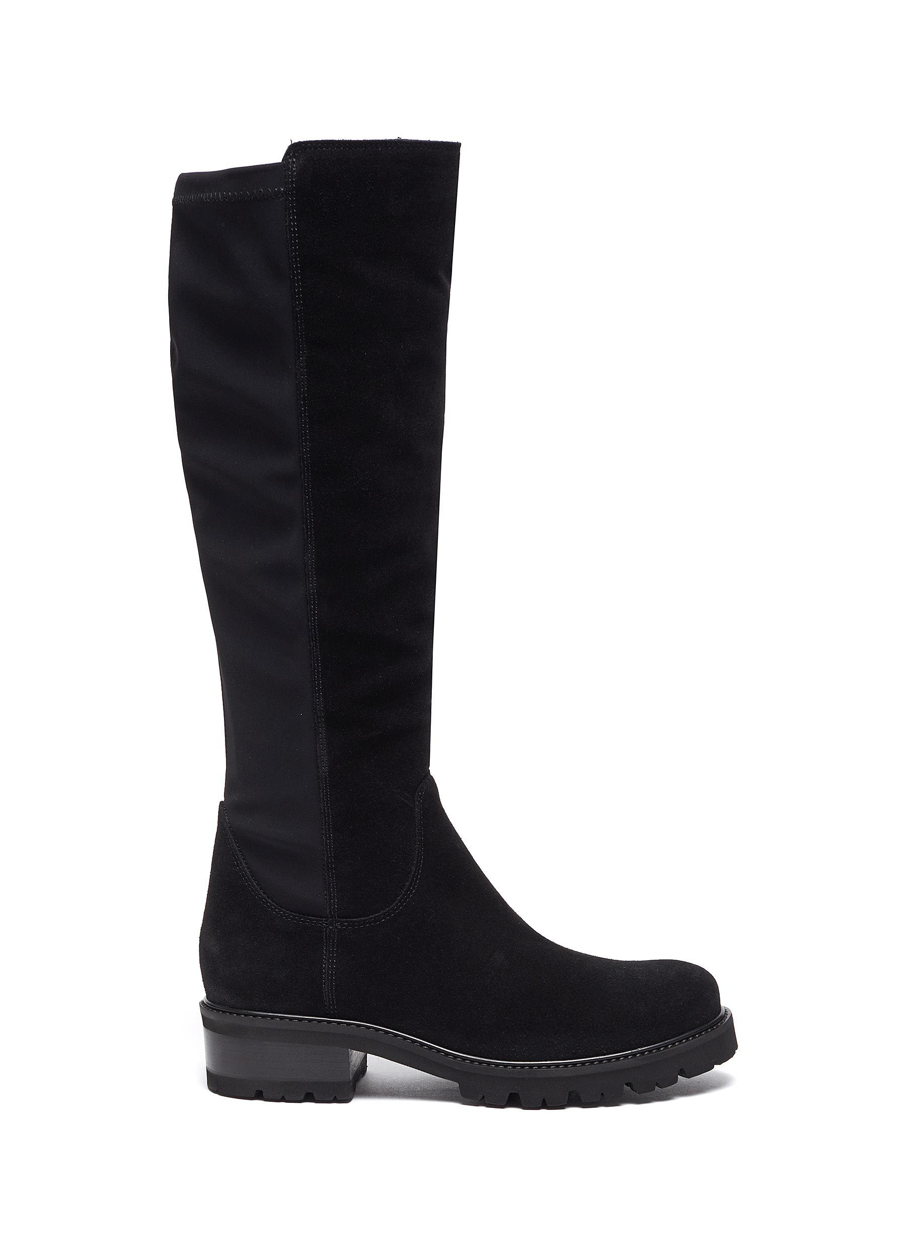 Cagney' Tall Suede Knee High Boots