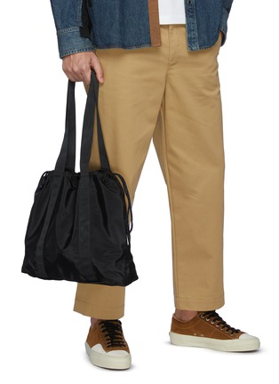 Figure View - Click To Enlarge - TAIKAN - Nylon Flanker Tote Bag