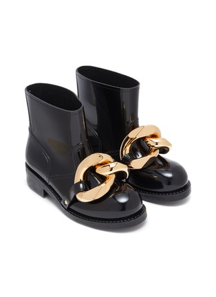 Detail View - Click To Enlarge - JW ANDERSON - Chain Rubber Boots