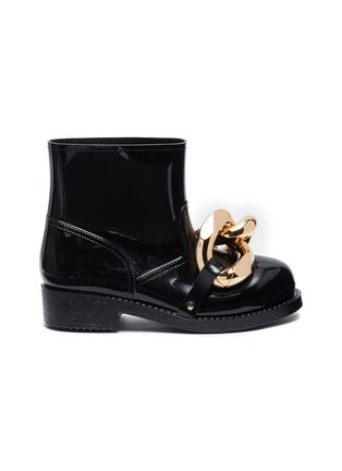 Main View - Click To Enlarge - JW ANDERSON - Chain Rubber Boots
