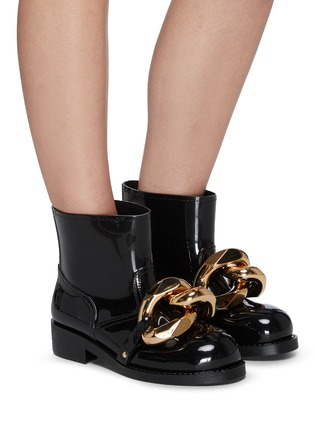 Figure View - Click To Enlarge - JW ANDERSON - Chain Rubber Boots