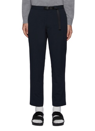 Main View - Click To Enlarge - NANAMICA - Global Exclusive Alphadry Webbing Belted Pants