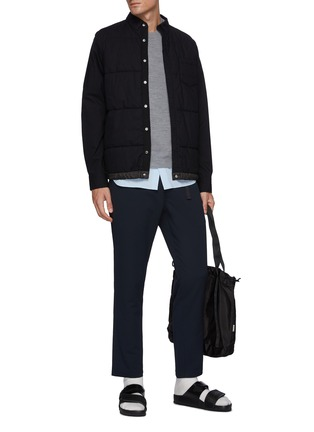Figure View - Click To Enlarge - NANAMICA - Global Exclusive Alphadry Webbing Belted Pants