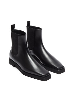 Detail View - Click To Enlarge - TOTÊME SHOES - Square Toe Leather Chelsea Boots