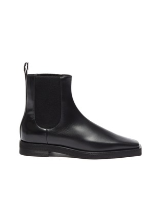 Main View - Click To Enlarge - TOTÊME SHOES - Square Toe Leather Chelsea Boots