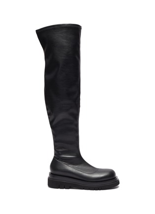 Main View - Click To Enlarge - PEDDER RED - Cassidy - Platform Square Toe Boot