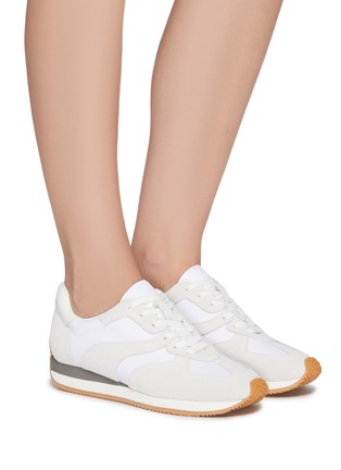 Figure View - Click To Enlarge - PEDDER RED - Lumi' Cut Out Sneakers