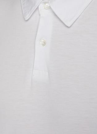 - JAMES PERSE - Lightweight Jersey Revise Standard Short Sleeve Polo