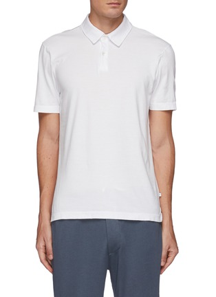 Main View - Click To Enlarge - JAMES PERSE - Lightweight Jersey Revise Standard Short Sleeve Polo