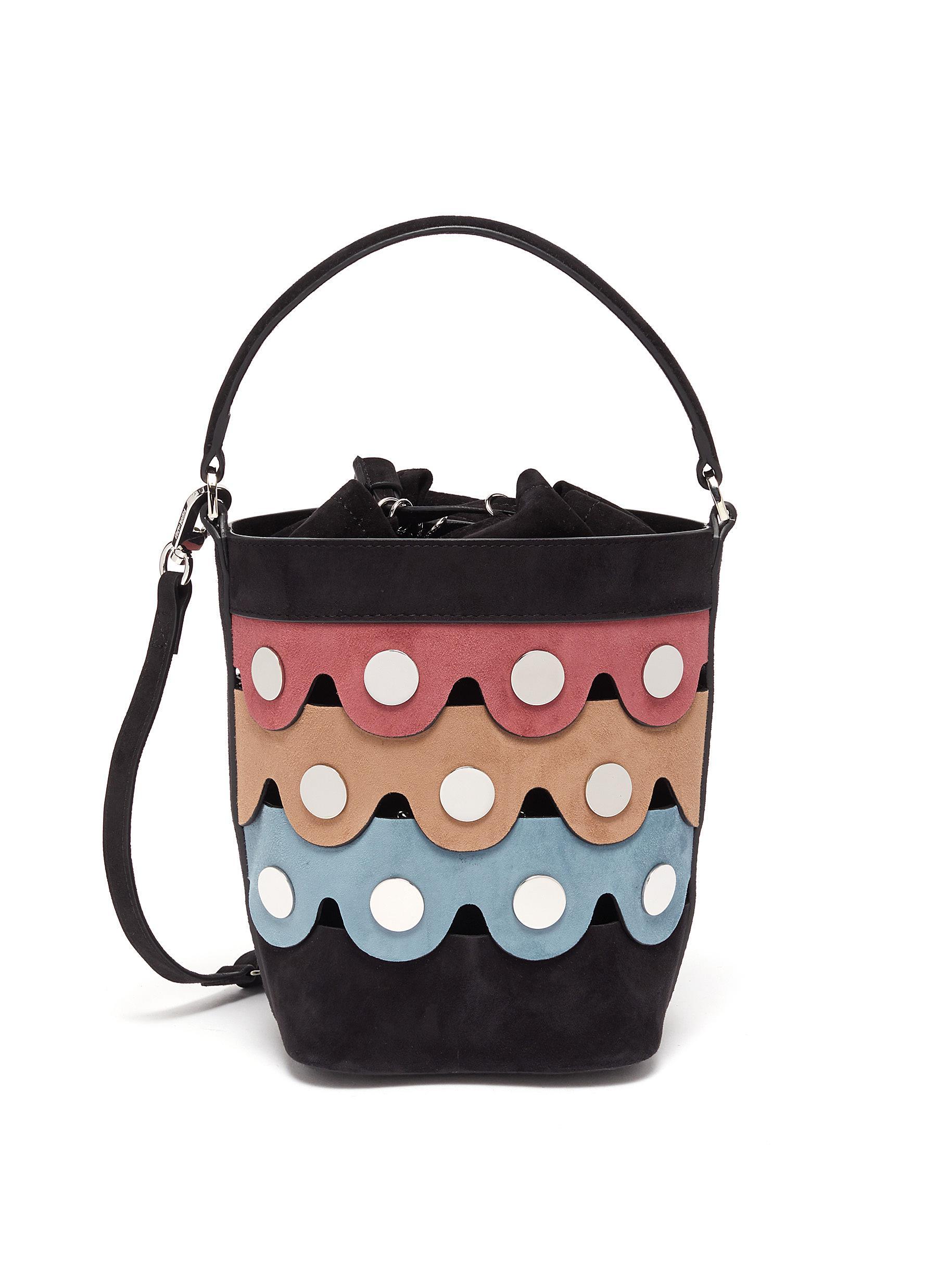 Penny' Suede Bucket Bag - PIERRE HARDY - Modalova