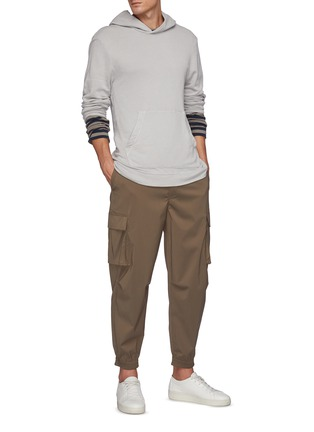 Figure View - Click To Enlarge - JAMES PERSE - French Terry Pullover Hoodie
