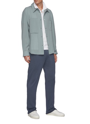 Figure View - Click To Enlarge - JAMES PERSE - French Terry Cotton Sweat Pant