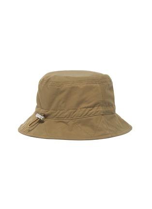 Back View - Click To Enlarge - JACQUEMUS - Le Bob Picchu Cotton Blend Bucket Hat