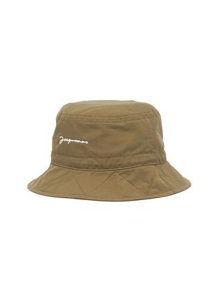 Main View - Click To Enlarge - JACQUEMUS - Le Bob Picchu Cotton Blend Bucket Hat
