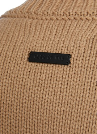 - FEAR OF GOD - Overlapped Crewneck Wool Sweater