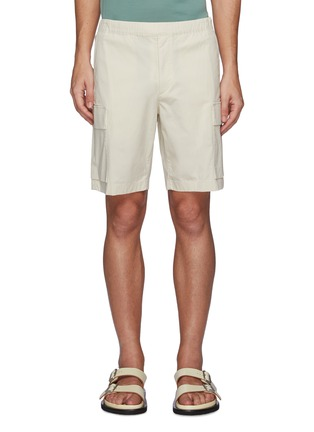 Main View - Click To Enlarge - THEORY - Wilmar Slub Cotton Blend Cargo Shorts