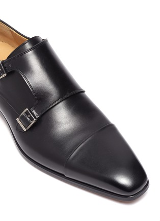 Detail View - Click To Enlarge - MAGNANNI - Toe Cap Double Monk