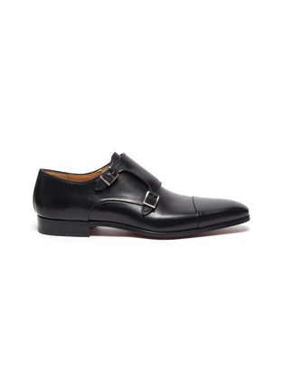 Main View - Click To Enlarge - MAGNANNI - Toe Cap Double Monk