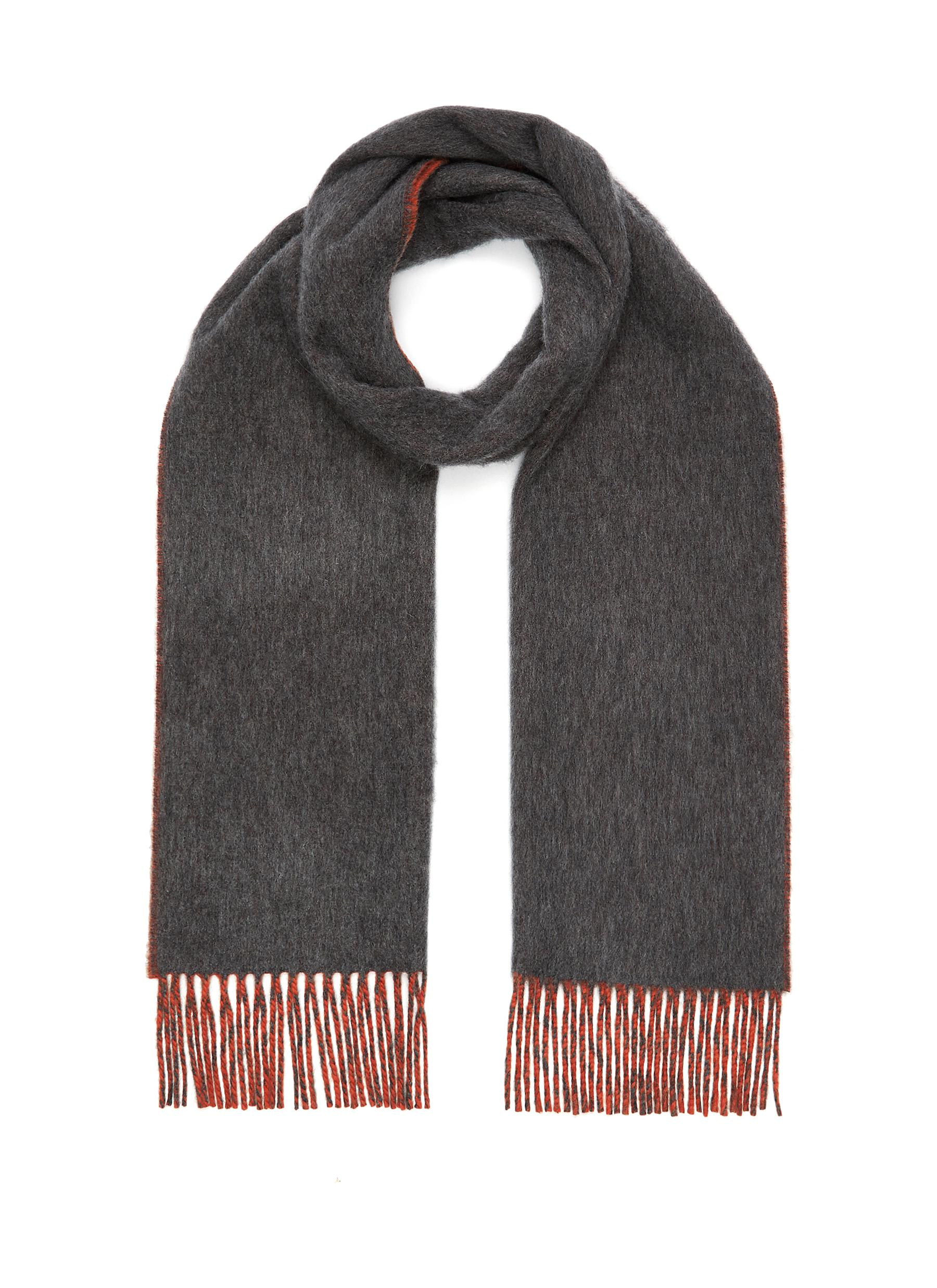 Reversible Contrast Scarf